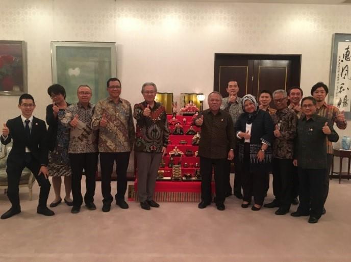 在インドネシア日本国大使館 Embassy of Japan in Indonesia