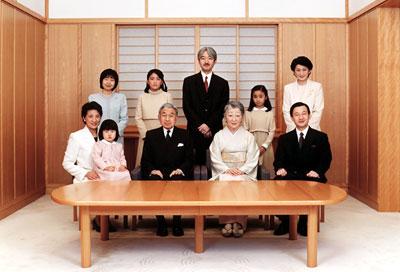Keluarga kaisar Jepang
